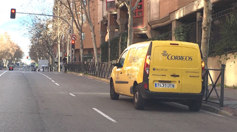 Correos renovará su flota con nuevas furgonetas eléctricas