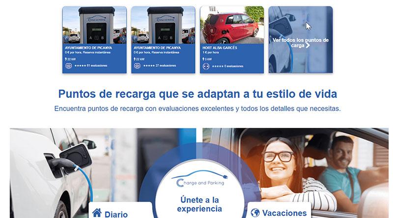 Cargacoches adquiere la plataforma Charge and Parking para la gestión de puntos de recarga propios y de terceros