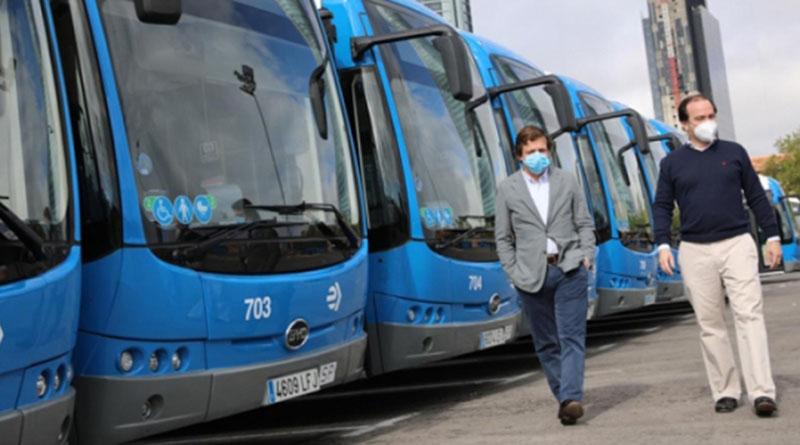 Por primera vez, el modelo BYD estándar cero emisiones se suma a la flota de autobuses de Madrid