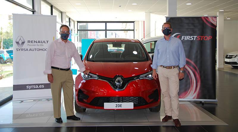 First Stop presta el servicio de recarga móvil a todos los clientes de Syrsa Automoción que tengan vehículo eléctrico