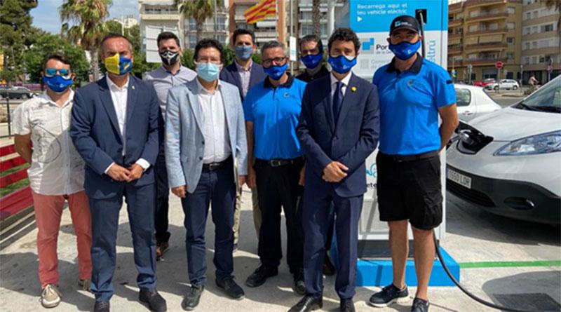 Ports de la Generalitat ultima la puesta en marcha de 14 puntos de recarga para vehículos eléctricos