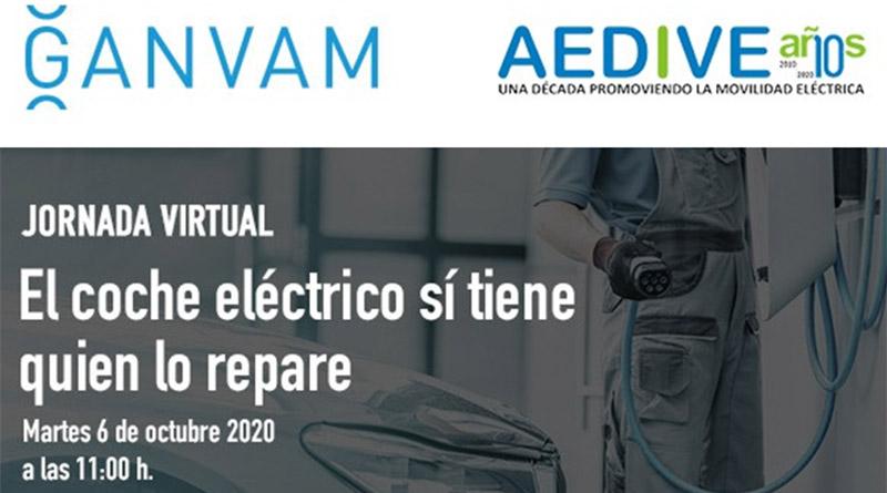 Webinar Ganvam-Aedive: El coche eléctrico sí tiene quien lo repare