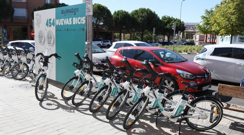 BiciMAD Go, el nuevo servicio de bicicletas eléctricas sin base fija de Madrid