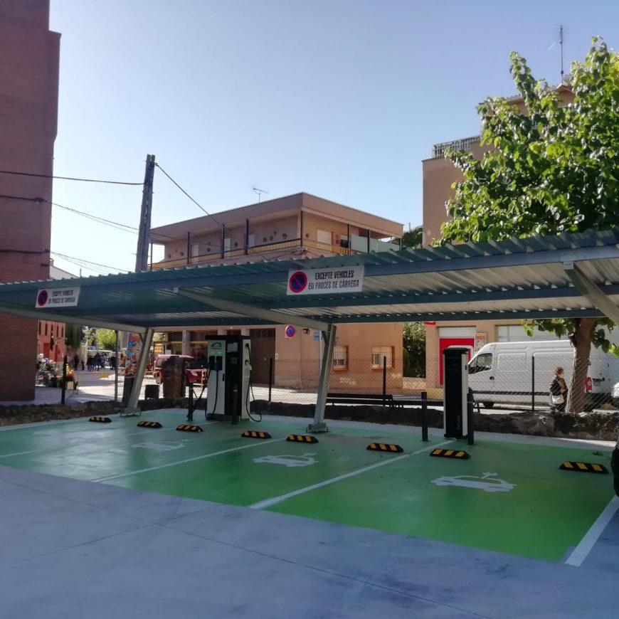 Prats de Lluçanès ya tiene su propio punto de recarga rápida