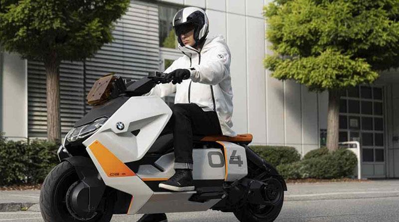 BMW Motorrad Definition CE 04, un scooter eléctrico que busca redefinir el diseño del sector