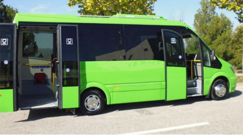 eURBAN nuevo microbús eléctrico desarrollado por CAR-BUS.net