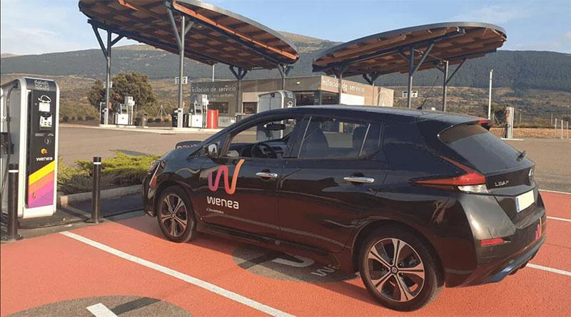 El BEI invierte 50 millones en Wenea para desplegar más de 470 estaciones de recarga de vehículos eléctricos en España