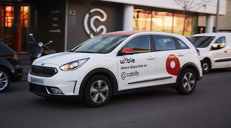 WiBLE ya está disponible en la app de Cabify, un acuerdo que impulsa la movilidad sostenible