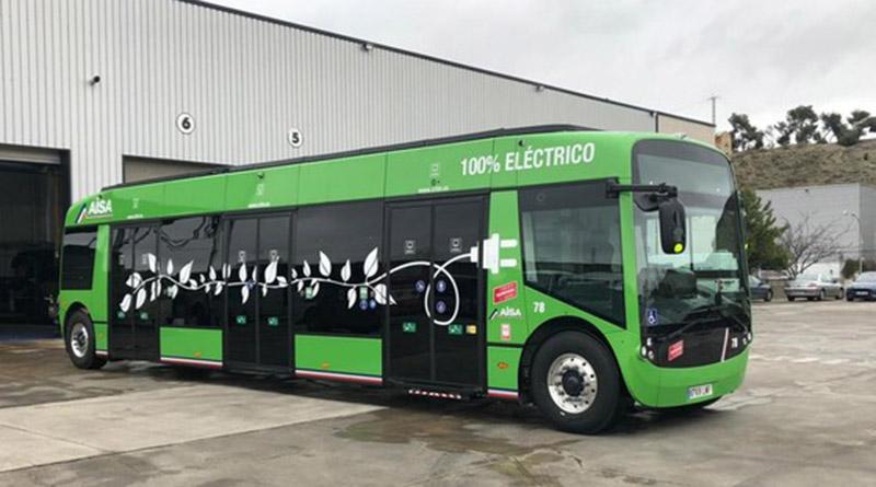 El innovador autobús eléctrico Aptis, desarrollado por Alstom, ya circula por Aranjuez