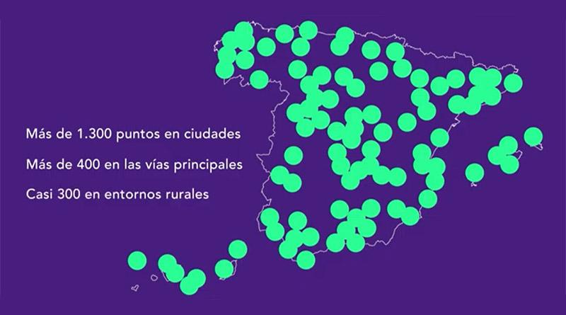 La primera fase del plan de Endesa supera los 2.000 puntos de recarga de VE instalados en España
