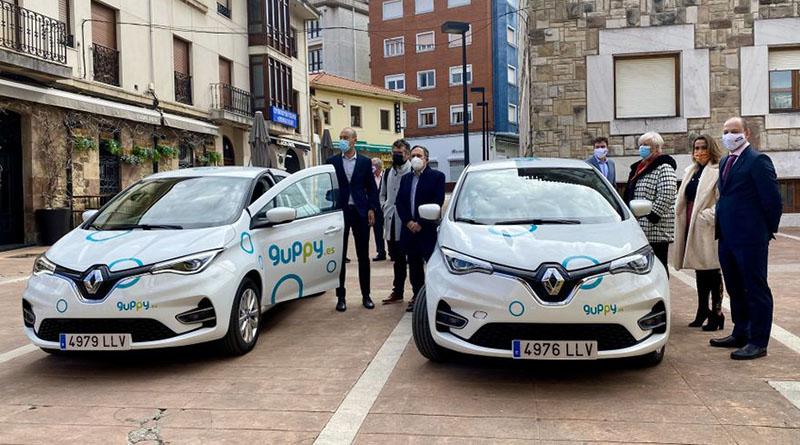 guppy ofrecerá su servicio de carsharing en Torrelavega
