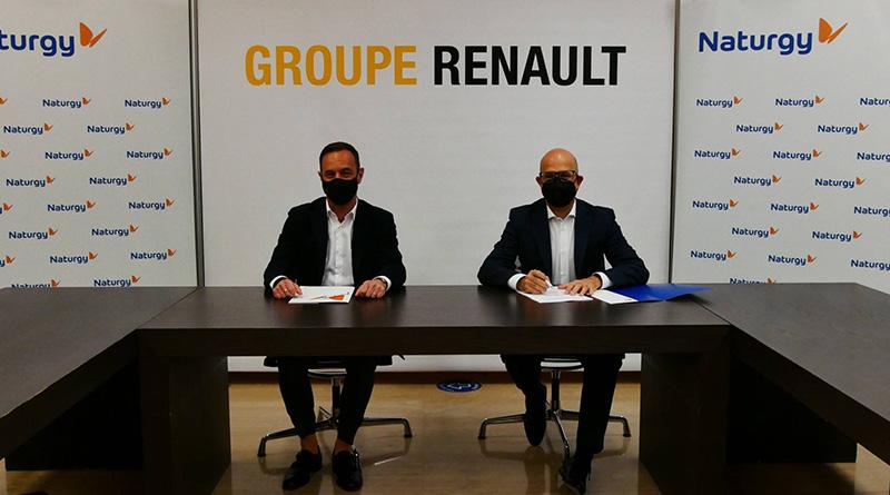 Naturgy suministrará a Renault los puntos de recarga para coches eléctricos
