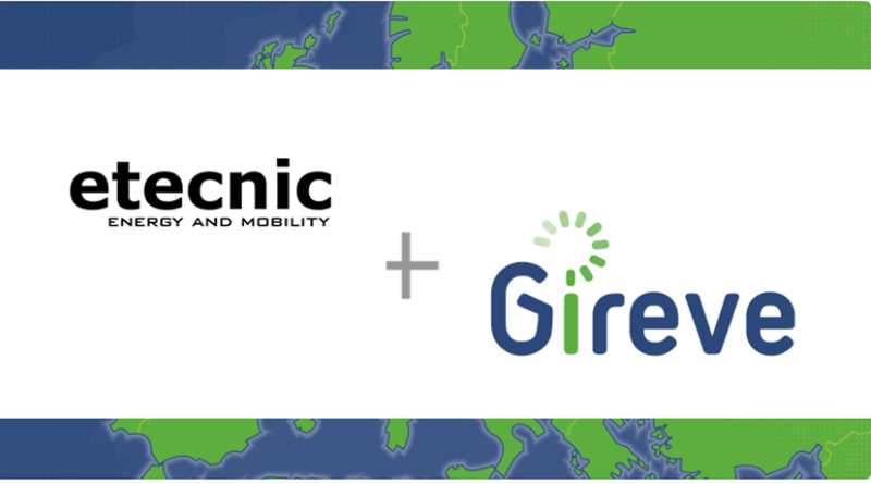 The fast-growing catalan company ETECNIC got connected to GIREVE's Platform