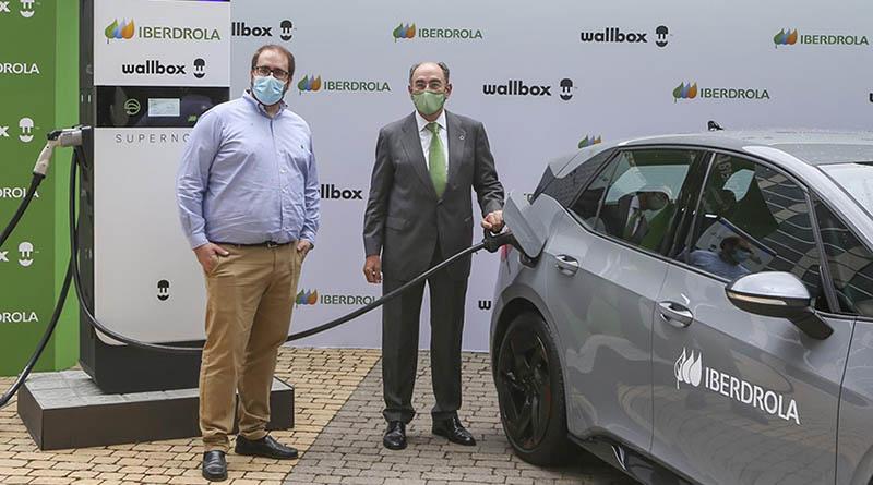 Iberdrola acelera su plan en movilidad eléctrica con la adquisición de 1.000 cargadores rápidos de Wallbox
