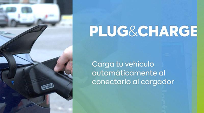 La funcionalidad Plug&Charge llega a EasyCharger