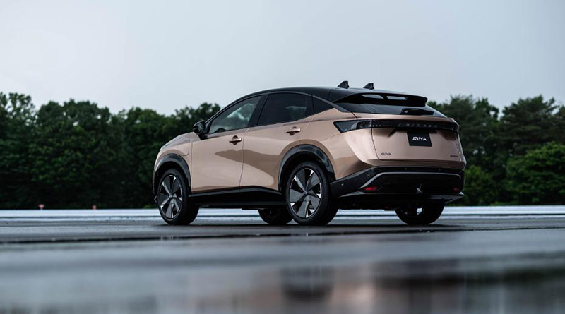 Nissan selecciona la Feria VEM2021 para exponer en España su crossover cupé 100% eléctrico, el Ariya