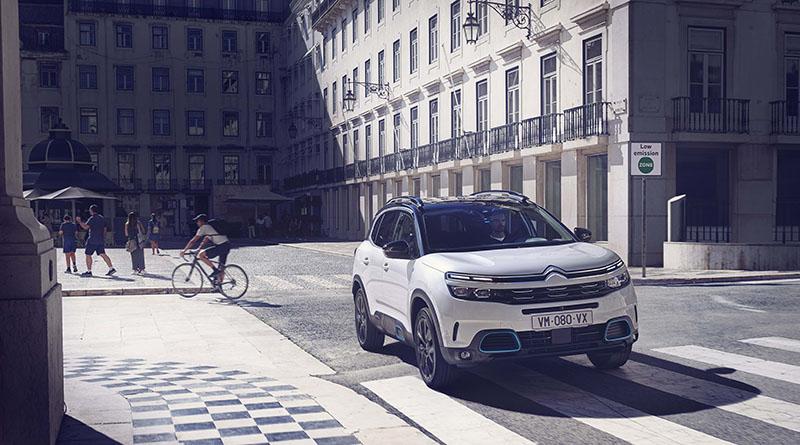 Citroën acude al VEM2021 con su berlina compacta Citroën ë-C4 – 100% ëlectric y el SUV Citroën C5 Aircross Hybrid