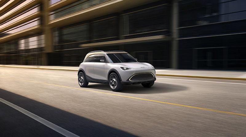 El smart Concept #1, recientemente presentado en el salón del automóvil IAA de Múnich, llega como primicia a la VEM de Madrid